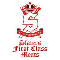 Slater's First Class Meats Logo